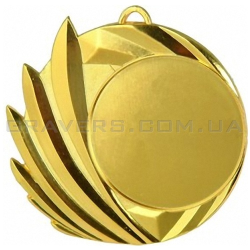 Медаль золото MD 4070-70мм