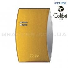 Турбо-зажигалка Colibri Eclipse Желтая (Co300d007-li)