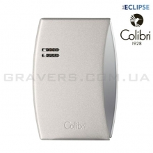 Турбо-зажигалка Colibri Eclipse светло-серая (Co300d003-li)