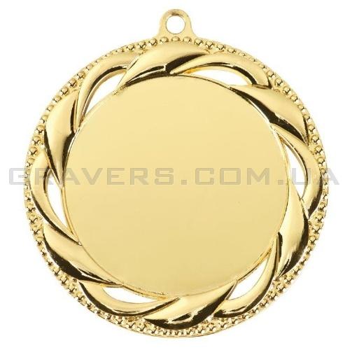 Медаль золото MD 0093-70мм