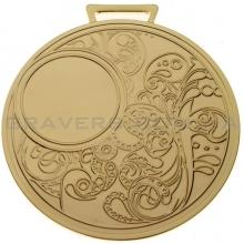 Медаль золото MD 0080-80мм