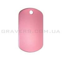 Жетон 38x22мм - розовый