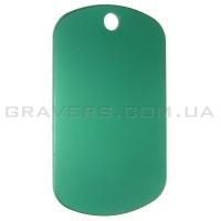 Жетон 50x29мм - зеленый