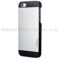 Алюминиевый чехол Motomo для iPhone 5/5s - серебристый
