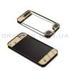 Алюминиевая накладка для iPhone 4/4S - черная