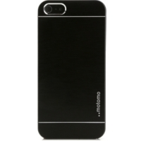 Чехол Motomo Ino Metal Black для iPhone 5/5S