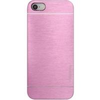 Чехол Motomo Ino Metal Pink для iPhone 5/5S