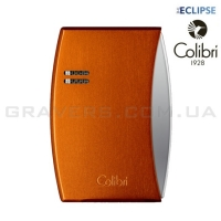 Турбо-зажигалка Colibri Eclipse оранжевая (Co300d006-li)