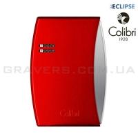 Турбо-зажигалка Colibri Eclipse красная (Co300d005-li)