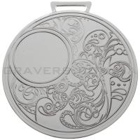 Медаль серебро MD 0080-80мм