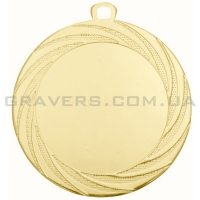 Медаль золото ME 7001-70мм
