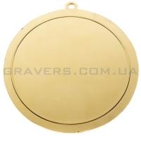 Медаль золото MD 7002-70мм