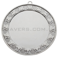 Медаль серебро MD 7002-70мм