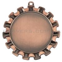 Медаль бронза MD 0057-70мм