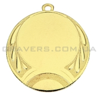Медаль золото MD 0069-70мм