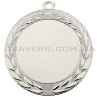 Медаль серебро MD 0072-70мм