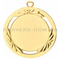 Медаль золото MD 0076-70мм