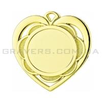 Медаль золото MD 0087-50мм