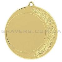 Медаль золото MD 0142-70мм