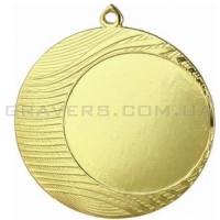 Медаль золото MD 1090-70мм