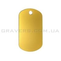Жетон 38x22мм - золотистый