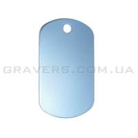 Жетон 38x22мм - голубой