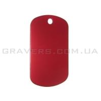 Жетон 38x22мм - красный