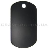 Жетон 50x29мм - черный