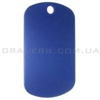 Жетон 50x29мм - синий