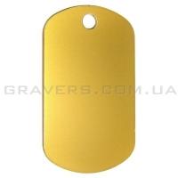 Жетон 50x29мм - золотистый