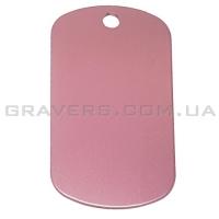 Жетон 50x29мм - розовый