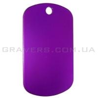 Жетон 50x29мм - фиолетовый