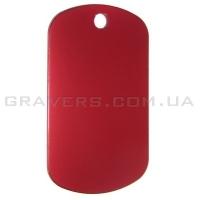 Жетон 50x29мм - красный