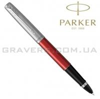 Ручка роллер Parker Jotter Kensington Red CT RB (16 421)