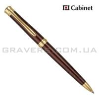"""Ручка шариковая Cabinet """"Dreams"""" бордовая"""
