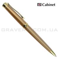 """Ручка шариковая Cabinet """"Dreams"""" золотистая"""