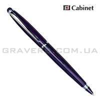 """Ручка шариковая Cabinet """"Fleur"""" синяя"""