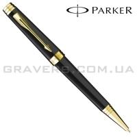 Шариковая ручка Parker Premier Black Lacquer GT BP (89 732)