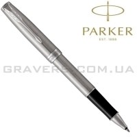 Ручка Parker роллер SONNET Stainless Steel CT RB (84 222)