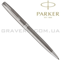 Шариковая ручка Parker SONNET Stainless Steel CT BP (84 232)