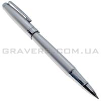Ручка роллер серебристая (pen-142)