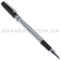 Ручка роллер с чёрным колпачком (pen-145)