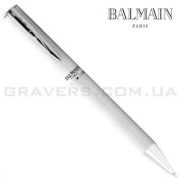 Белая шариковая ручка Balmain (pen-152)