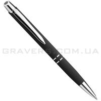 """Ручка шариковая """"Soft Touch"""" черная (pen-080)"""
