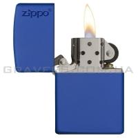 Зажигалка Zippo 229 ZL Royal Matte w/Zippo Logo