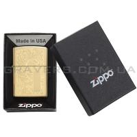 Зажигалка Zippo 352B Venetian Brass