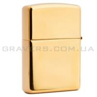 Зажигалка Zippo 254B High Polish Solid Brass