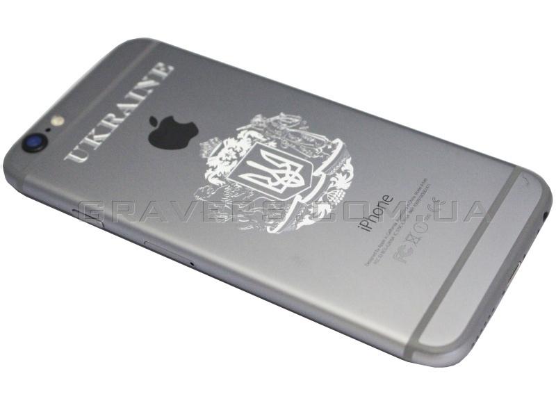 гравировка на iphone 4